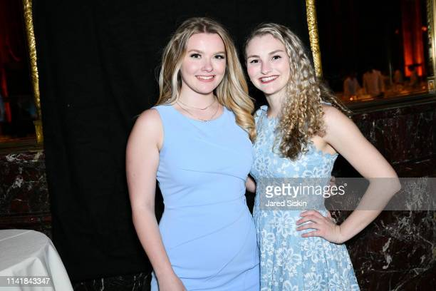 Julia Hussey and Kelsey Kempner attend The One Love Foundation's One Night for One Love at Cipriani 42nd Street on April 10 2019 in New York City