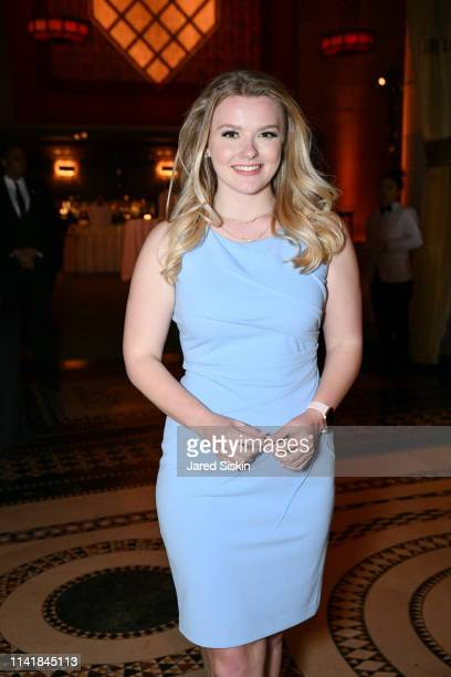 Julia Hussey attends The One Love Foundation's One Night for One Love at Cipriani 42nd Street on April 10 2019 in New York City