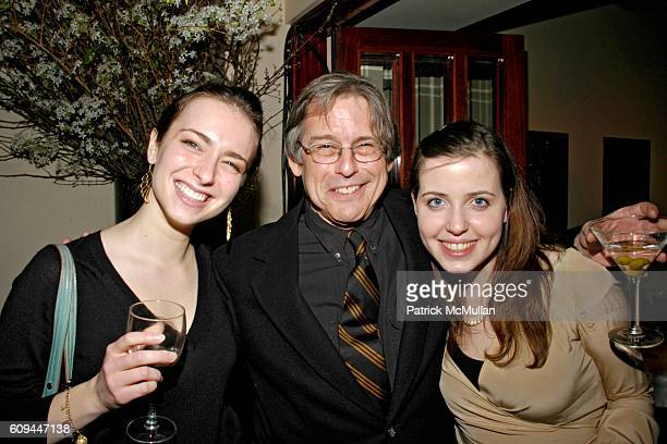 Julia Ioffe Hendrik Hertzberg and Irin Carmon attend Susan Blond Inc 20th Anniversary Party at Michael's on March 1 2007 in New York City