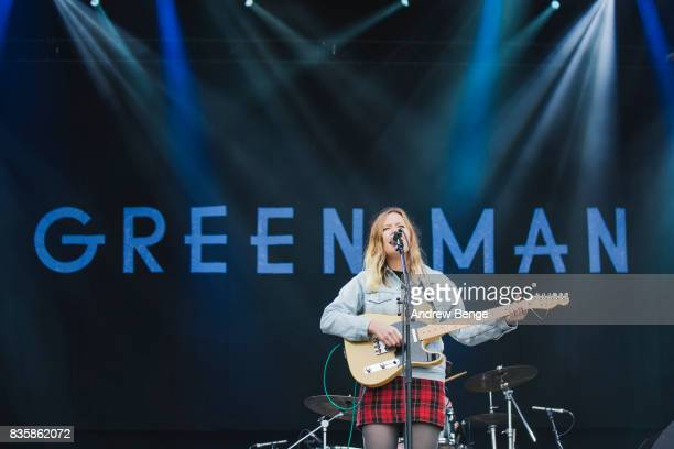 Julia Jacklin performs on the Mountain stage during day 4 at Green Man Festival at Brecon Beacons on August 20, 2017 in Brecon, Wales.