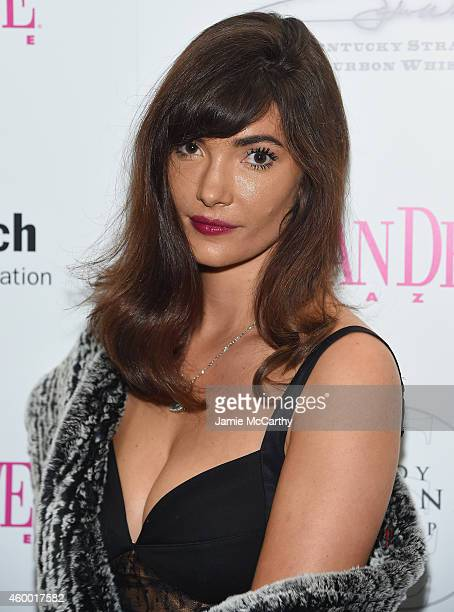 Julia Jackson attends Ocean Drive Magazine December Cover Model Krysten Ritter Launch at W South Beach on December 5 2014 in Miami Beach Florida