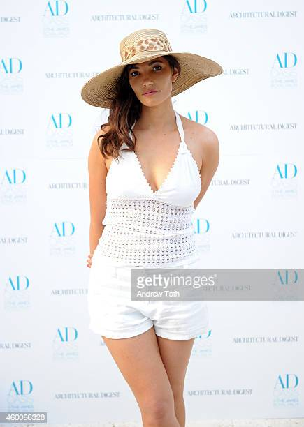 Julia Jackson attends The AD Oasis at James Royal Palm Hotel on December 6 2014 in Miami Beach Florida