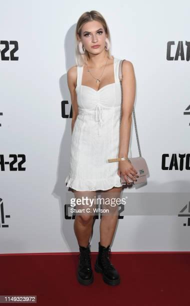 "Julia Jaskulska attends the ""Catch 22"" UK premiere on May 15, 2019 in London, United Kingdom."
