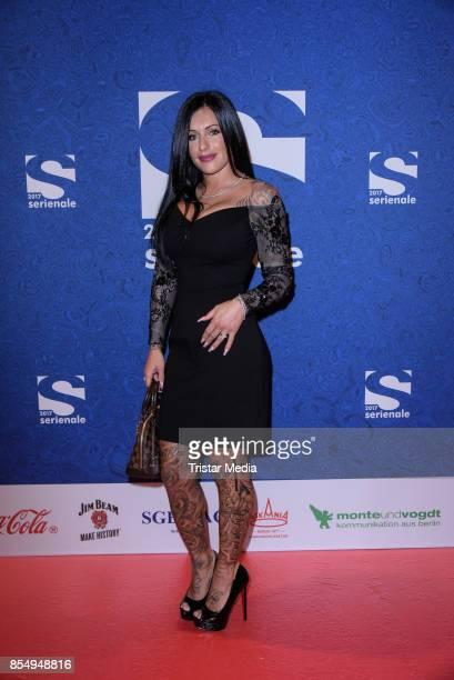 Julia Jasmin Ruehle attend the Serienale Opening on September 27 2017 in Berlin Germany