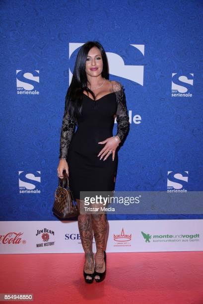Julia Jasmin Ruehle attend the Serienale Opening on September 27, 2017 in Berlin, Germany.