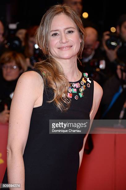 Julia Jentsch attends the 'Hail Caesar' premiere during the 66th Berlinale International Film Festival Berlin at Berlinale Palace on February 11 2016...