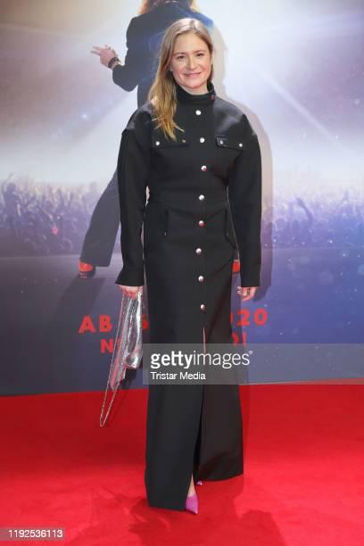 Julia Jentsch attends the Lindenberg Mach Dein Ding world premiere at CinemaxX Dammtor on January 7 2020 in Hamburg Germany