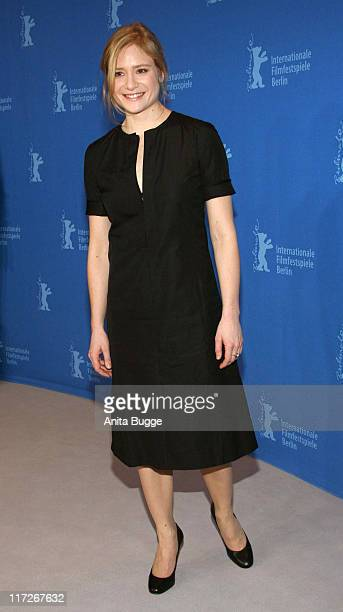 Julia Jentsch during The 57th Annual Berlinale Internationa Film Festival I Served The King Of England Photocall at Grand Hyatt Hotel in Berlin...