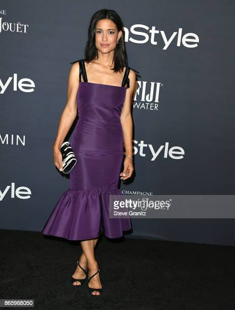 Julia Jones arrive at the 3rd Annual InStyle Awards at The Getty Center on October 23 2017 in Los Angeles California