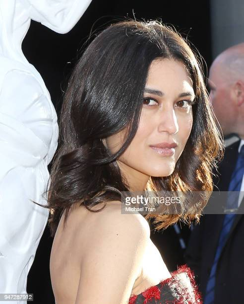 Julia Jones arrives at the Los Angeles premiere of HBO's Westworld season 2 held at The Cinerama Dome on April 16 2018 in Los Angeles California