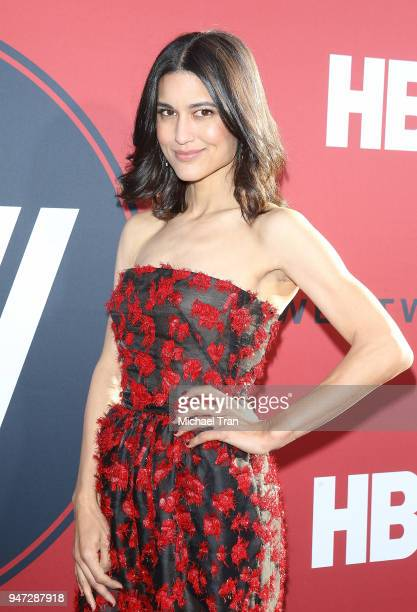 Julia Jones arrives at the Los Angeles premiere of HBO's 'Westworld' season 2 held at The Cinerama Dome on April 16 2018 in Los Angeles California