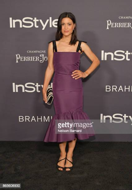 Julia Jones attends 3rd Annual InStyle Awards at The Getty Center on October 23 2017 in Los Angeles California