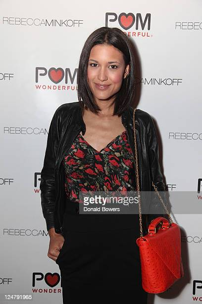 Julia Jones attends Rebecca Minkoff After Party Hosted by POM Wonderful at Rose Bar at Gramercy Park Hotel on September 12 2011 in New York City
