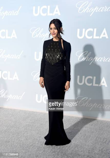 Julia Jones attends the 2019 Hollywood For Science Gala at Private Residence on February 21 2019 in Los Angeles California