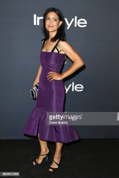Julia Jones attends the 3rd Annual InStyle Awards at The Getty Center on October 23 2017 in Los Angeles California