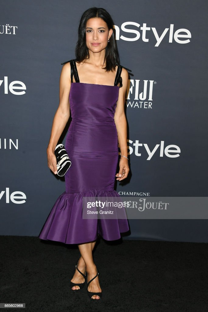 Julia Jones attends the 3rd Annual InStyle Awards at The Getty Center on October 23, 2017 in Los Angeles, California.