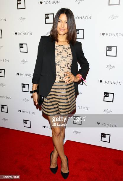 Julia Jones attends the Charlotte Ronson And Jcpenney I Heart Ronson Celebration With Music By Samantha Ronson at The Bungalow on December 11 2012 in...