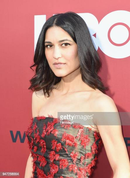 Julia Jones attends the Los Angeles Season 2 premiere of the HBO Drama Series WESTWORLD at The Cinerama Dome on April 16 2018 in Los Angeles...