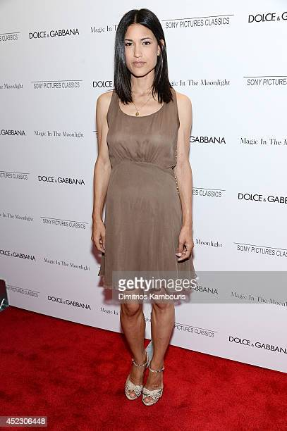 Julia Jones attends the 'Magic In The Moonlight' premiere at the Paris Theater on July 17 2014 in New York City