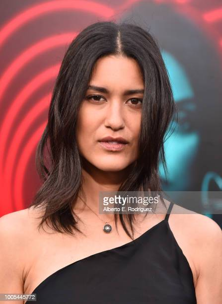 Julia Jones attends the Premiere Lionsgate's The Spy Who Dumped ME at the Fox Village Theater on July 25 2018 in Los Angeles California