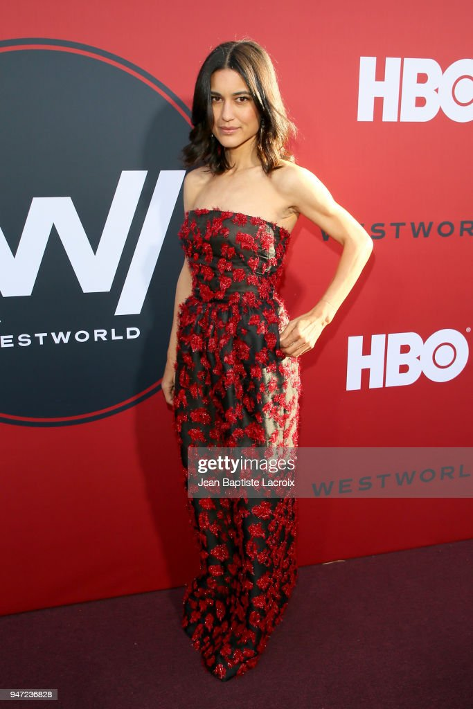 Julia Jones attends the premiere of HBO's 'Westworld' Season 2 at The Cinerama Dome on April 16, 2018 in Los Angeles, California.