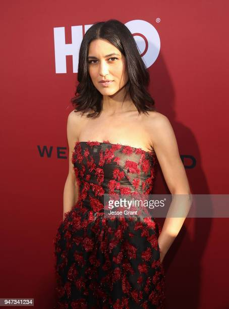 Julia Jones attends the Premiere of HBO's 'Westworld' Season 2 at The Cinerama Dome on April 16 2018 in Los Angeles California