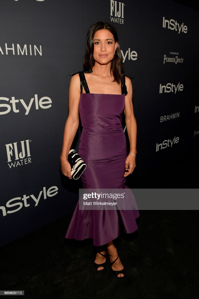 Julia Jones attends the Third Annual 'InStyle Awards' presented by InStyle at The Getty Center on October 23, 2017 in Los Angeles, California.