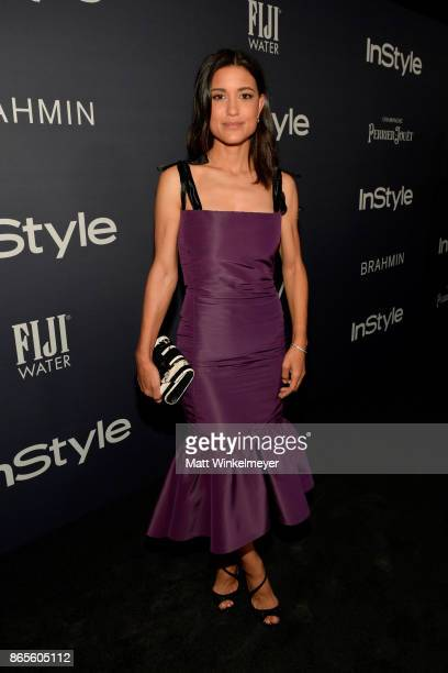 Julia Jones attends the Third Annual InStyle Awards presented by InStyle at The Getty Center on October 23 2017 in Los Angeles California