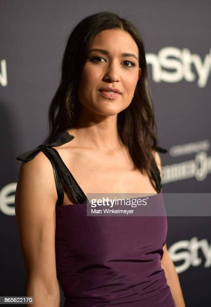 Julia Jones attends the Third Annual 'InStyle Awards' presented by InStyle at The Getty Center on October 23 2017 in Los Angeles California