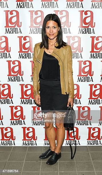 Julia Jones attends the 'Trash Cuisine' Off Broadway Opening Night at La MaMa Theater on April 29 2015 in New York City