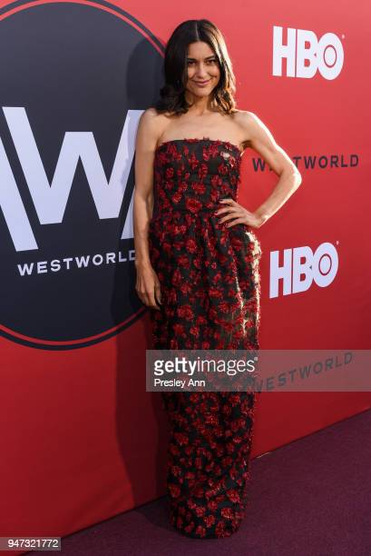 "Julia Jones attends ""Westworld"" Season 2 Los Angeles Premiere on April 16, 2018 in Los Angeles, California."