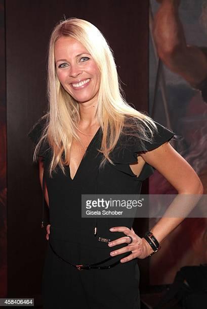 Julia Josten attends the CLOSER Magazin Hosts SMILE Award 2014 at Hotel Vier Jahreszeiten on November 4, 2014 in Munich, Germany.