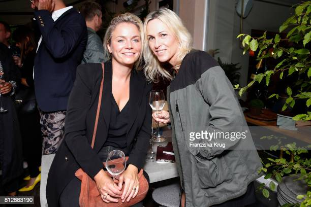 Julia Juengling and Sylvia Reinicke attend the 'Krug Kiosk' Event on July 11 2017 in Hamburg Germany