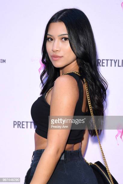 Julia Kelly attends PrettyLittleThing Hosts Private Influencer Dinner at Beauty Essex on July 12 2018 in Los Angeles California