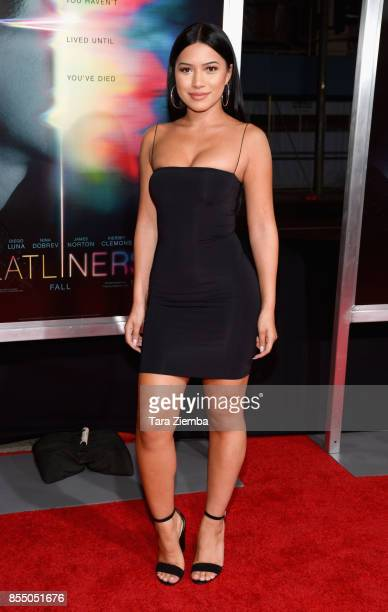 Julia Kelly attends the premiere of Columbia Pictures' 'Flatliners' at The Theatre at Ace Hotel on September 27 2017 in Los Angeles California