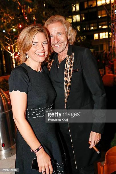 Julia Kloeckner and Thomas Gottschalk attend the BILD100 event on September 06 2016 in Berlin Germany