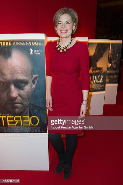 Julia Kloeckner attends the NRW Reception at the Landesvertretung on February 9 2014 in Berlin Germany