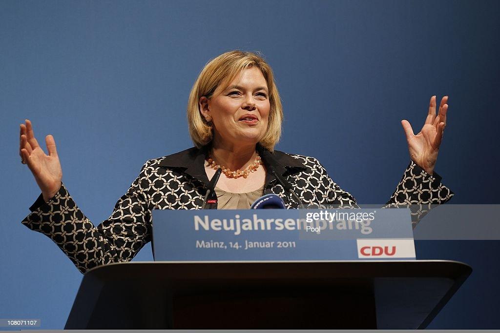 CDU Executive Board Convention In Mainz
