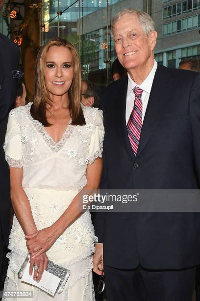 Julia Koch and David H Koch attend the Lincoln Center Spring Gala at Alice Tully Hall on May 2 2017 in New York City