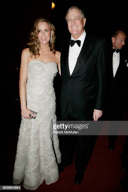 Julia Koch and David Koch attend AMERICAN BALLET THEATRE Annual Spring Gala Inside at The Metropolitan Opera House on May 18 2009 in New York