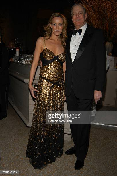 Julia Koch and David Koch attend American Turkish Society Alem Magazine Mr and Mrs Ahmet Ertegun host a special Turkish evening with the Whirling...