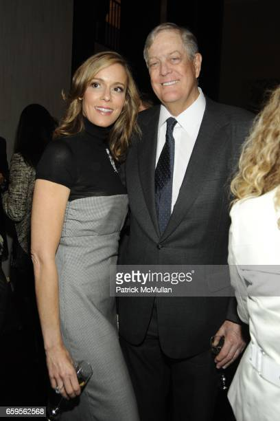 Julia Koch and David Koch attend Gwyneth Paltrow and VBH's Bruce Hoeksema Host Cocktail Party for Valentino The Last Emperor at VBH on October 27...