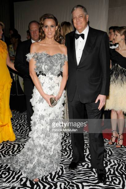 Julia Koch and David Koch attend THE COSTUME INSTITUTE GALA The Model As Muse with Honorary Chair MARC JACOBS INSIDE at The Metropolitan Museum of...