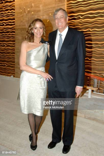 Julia Koch and David Koch attend WITTELSBACHGRAFF DIAMOND Unveiling Private Dinner at Smithsonian National Museum of Natural History on January 28...