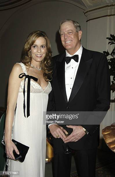Julia Koch and David Koch during The 2005 Food Allergy Ball Benefiting The Food Allergy Initiative Honoring Mario Batali Julia Koch and David Koch at...