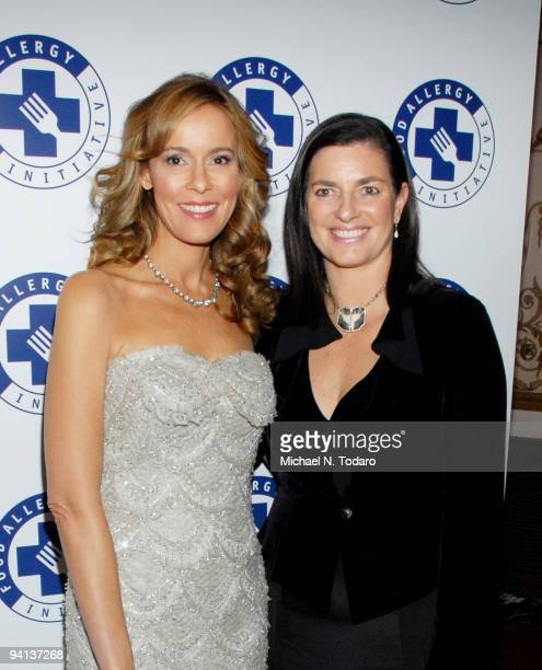 Julia Koch and Mary Richardson Kennedy attend the 2009 Annual Food Allergy Ball at The Waldorf=Astoria on December 7 2009 in New York City