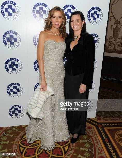 Julia Koch and Mary Richardson Kennedy attend the 2009 Annual Food Allergy Ball at The Waldorf Astoria on December 7 2009 in New York City