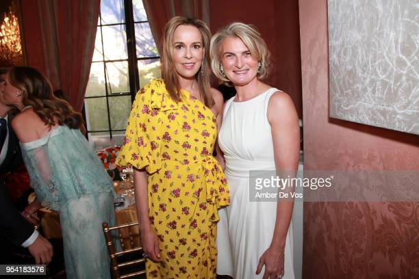 Julia Koch and Olivia Flatto attend the Launch of the Paris Opera 350th Anniversary in New York with the American Friends of the Paris Opera and...