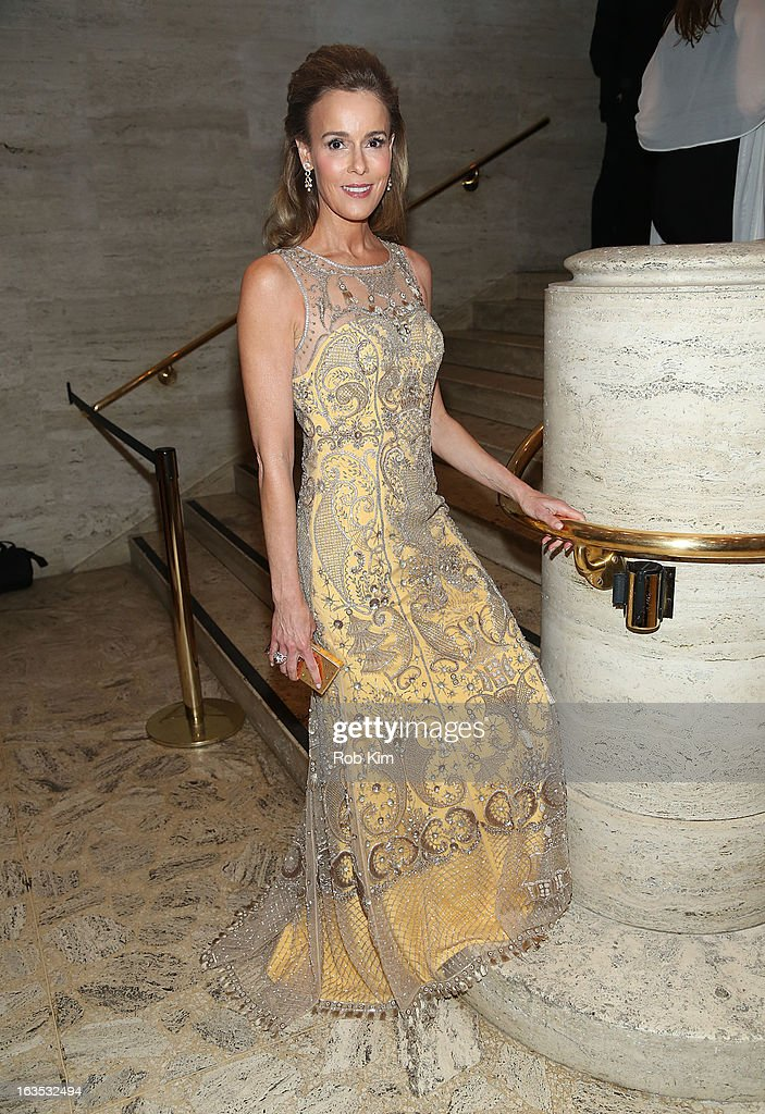 Julia Koch attends the School of American Ballet 2013 Winter Ball at David H. Koch Theater, Lincoln Center on March 11, 2013 in New York City.