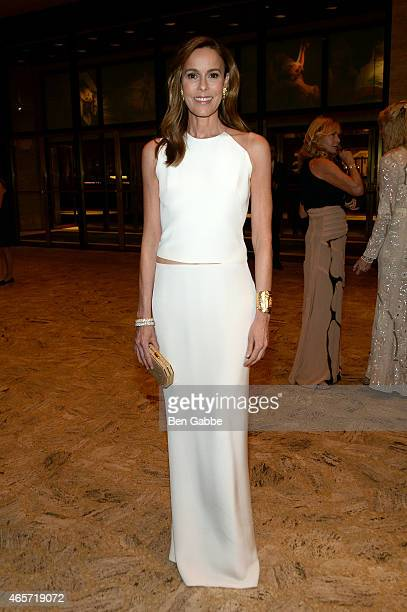 Julia Koch attends The School of American Ballet 2015 Winter Ball at David H Koch Theater at Lincoln Center on March 9 2015 in New York City